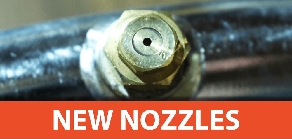 New Atomized Misting Nozzles