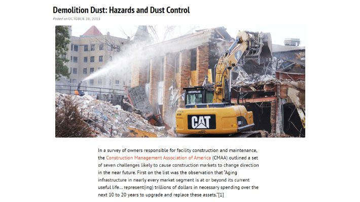 Dust hazards blog post preview
