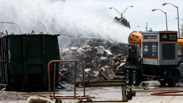 DB-60 fusion at demolition