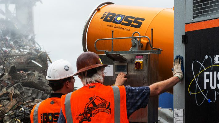 Operating DustBoss Fusion at musc