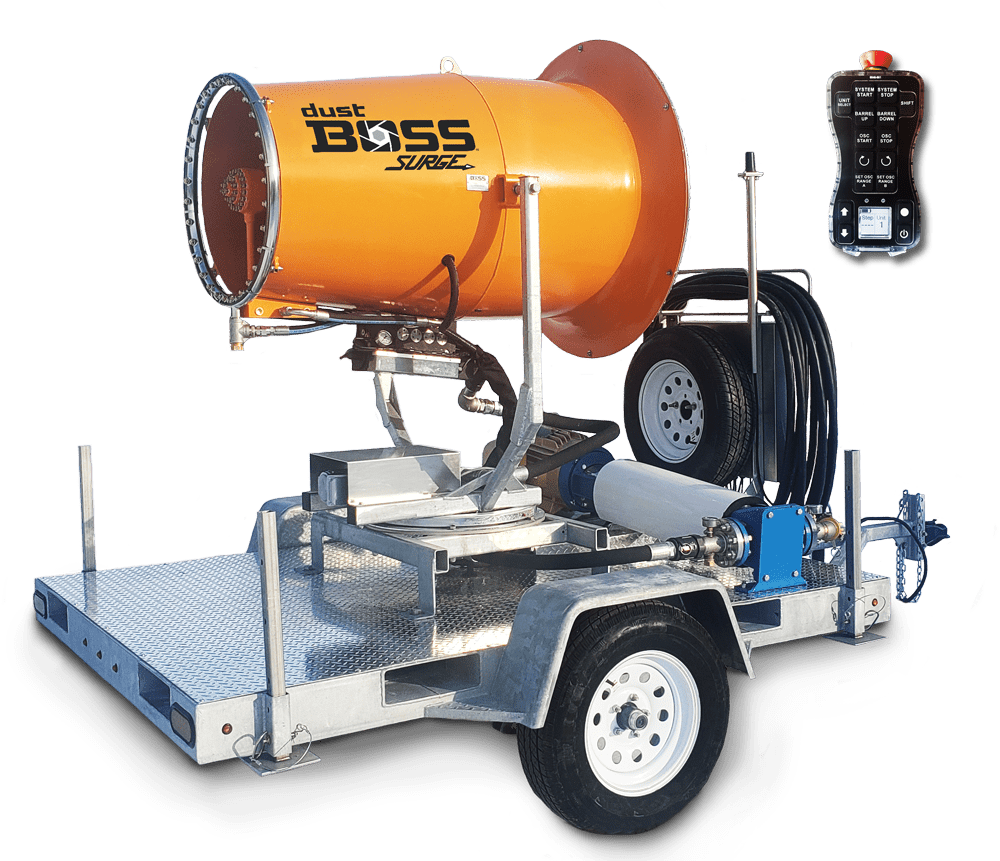 DB-60 Surge Center Nozzle Unit for Dust Control