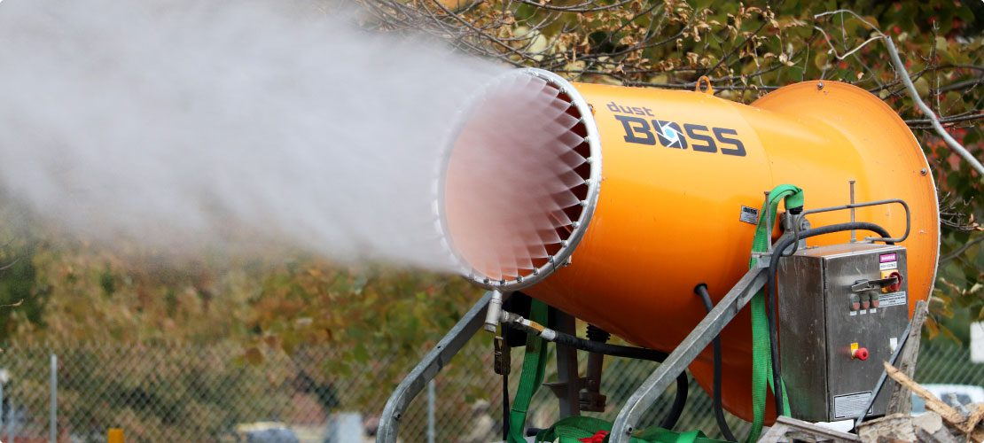 DustBoss dust control system and how it works