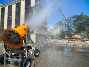 East Coast Demolition Uses DustBoss DB-60