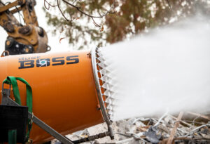 DustBoss DB-60 Cannon for Demolition Dust Control