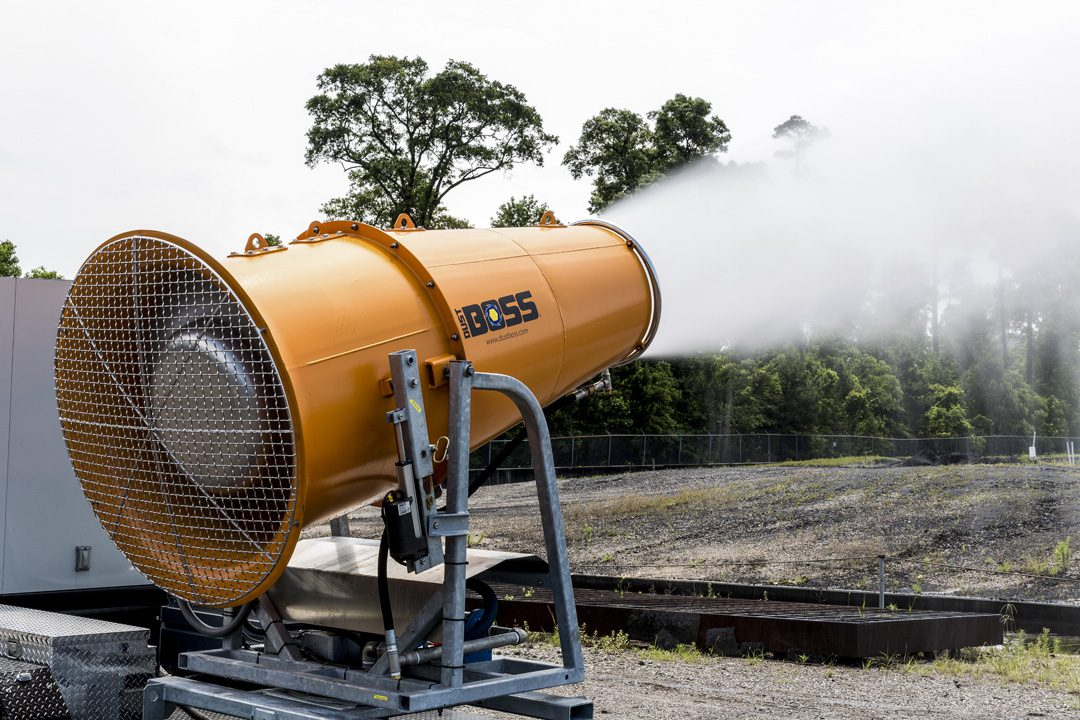DB-100 Fusion for Mobile Dust Suppression in Coal & Power Generation