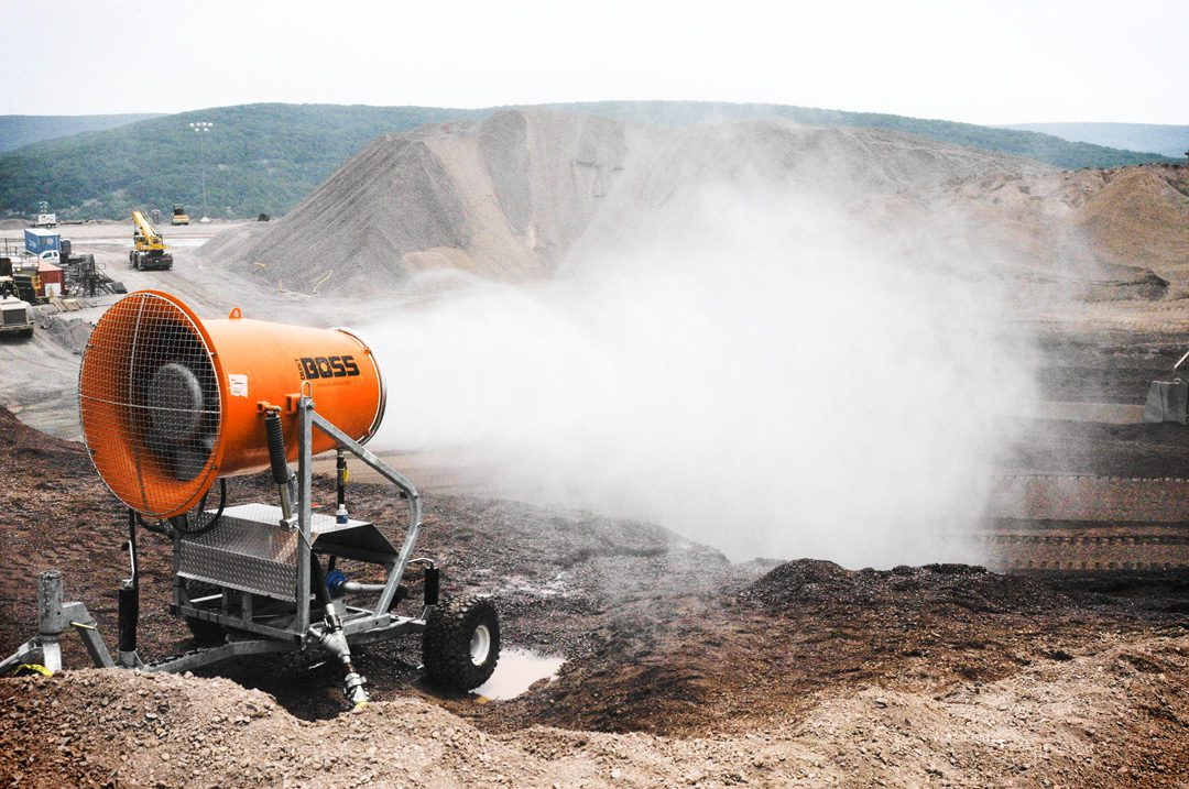 DB-60 Dust Control System for Mining & Material Handling