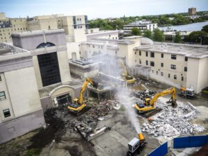 DustBoss Effectively Control Dust Onsite During Demolition & Construction