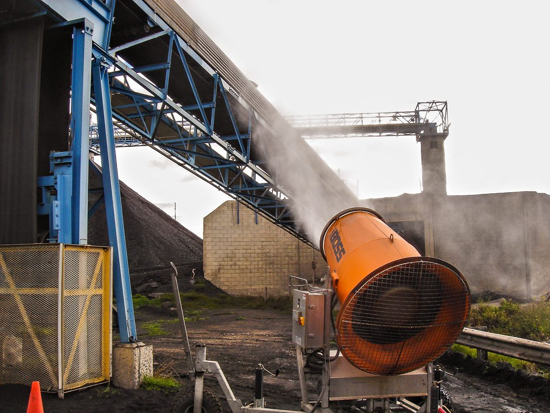 Dust Control in Coal Handling