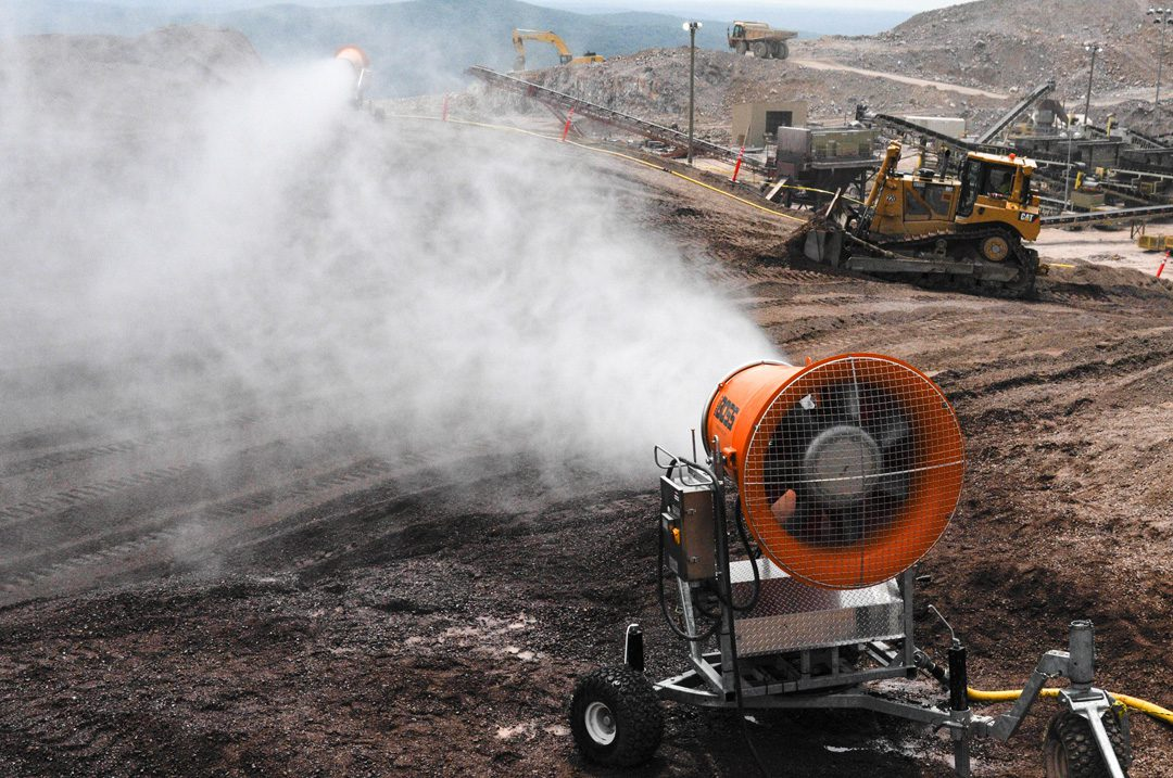 Dust Control in Material Handling