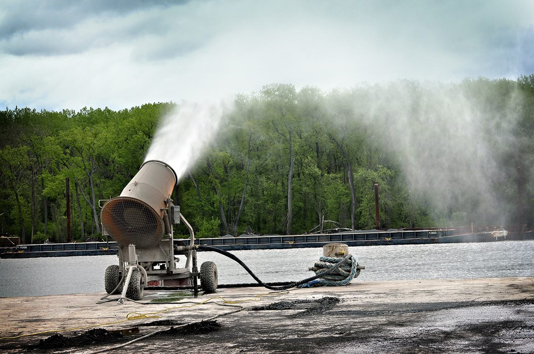 Dust Control in Port Facility and Shipping