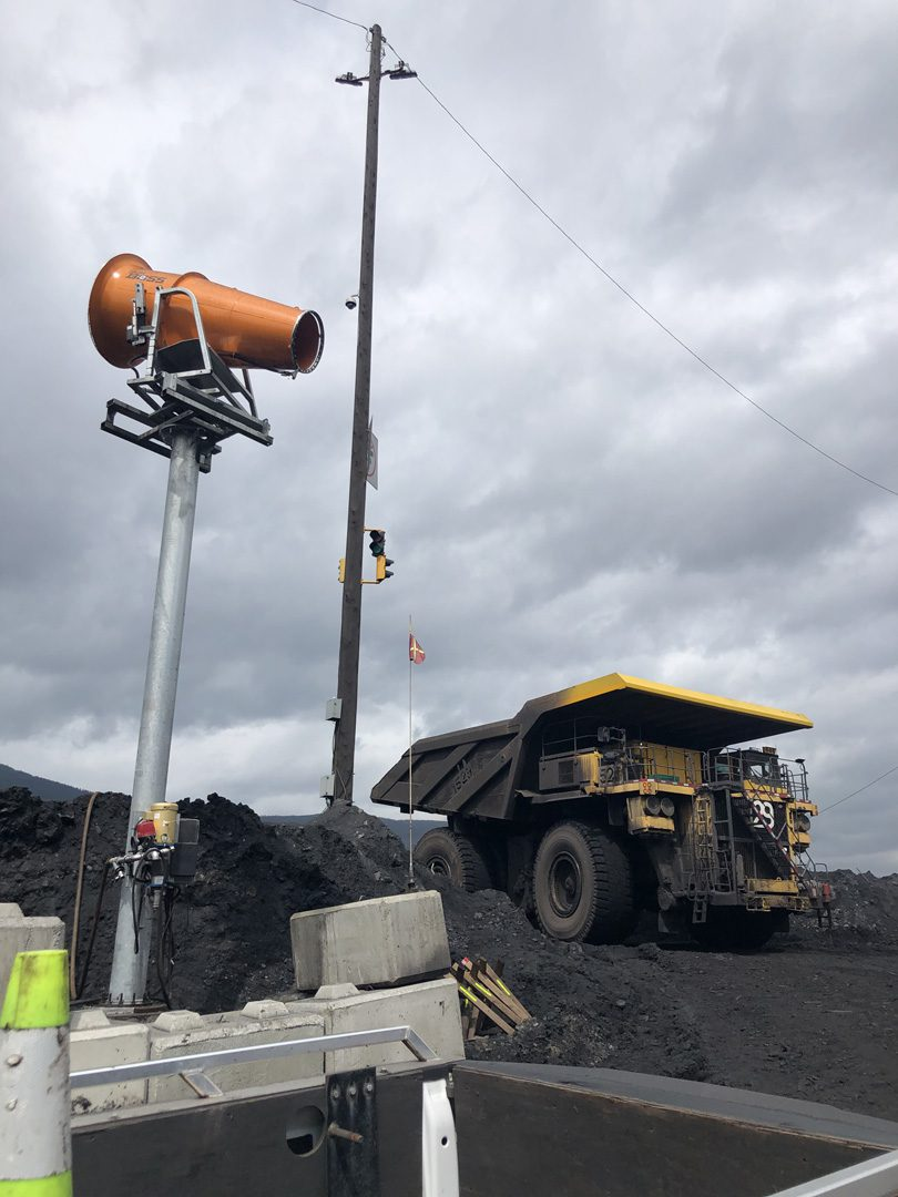 DustBoss DB-100 Tower for Coal Dust Control
