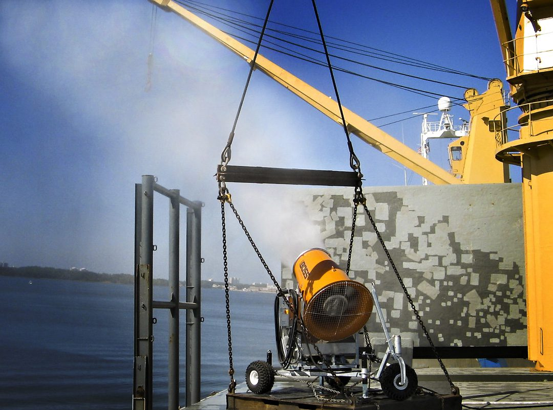 DustBoss Mobile Dust System for Ports & Terminals