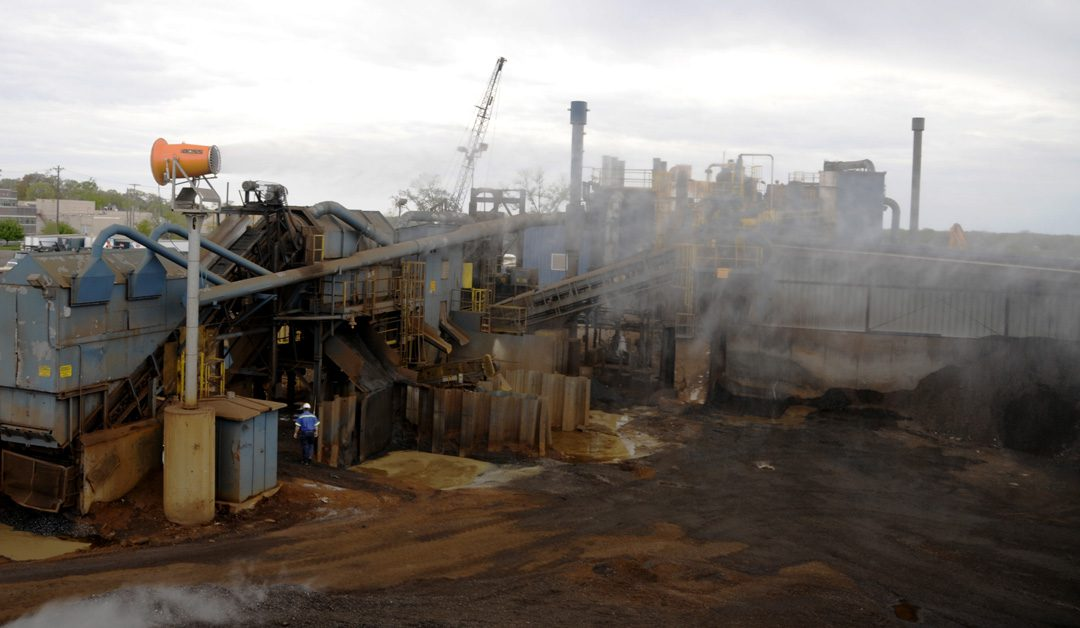 Michigan Scrap Metal Recycling Facility Fights Dust with DB-60 Tower Cannons