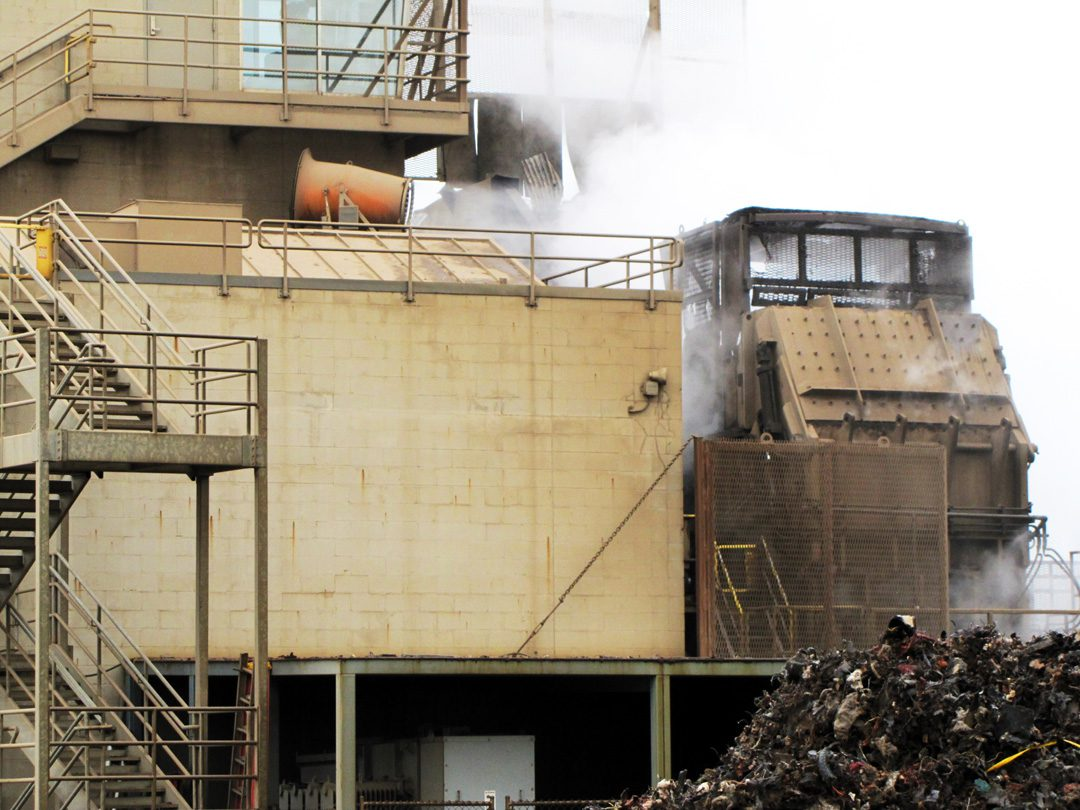 Misting Cannons for Dust Control in Scrap Metal Recycling