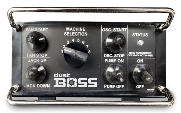 Dust Control Remote