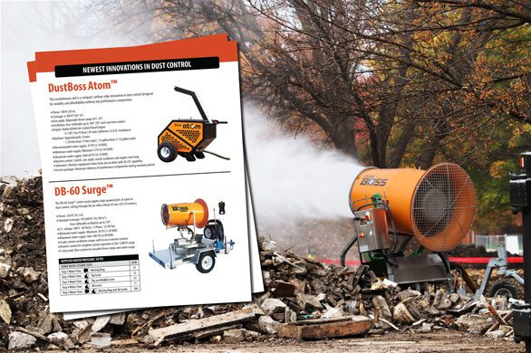 Demolition Dust Control Sheet