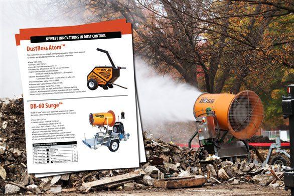 Demolition Dust Control Sheet
