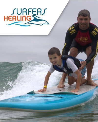Cannons for a Cause Surfers Healing Banner Mobile