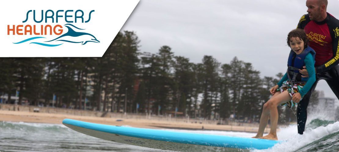 Cannons for a Cause Surfers Healing Banner