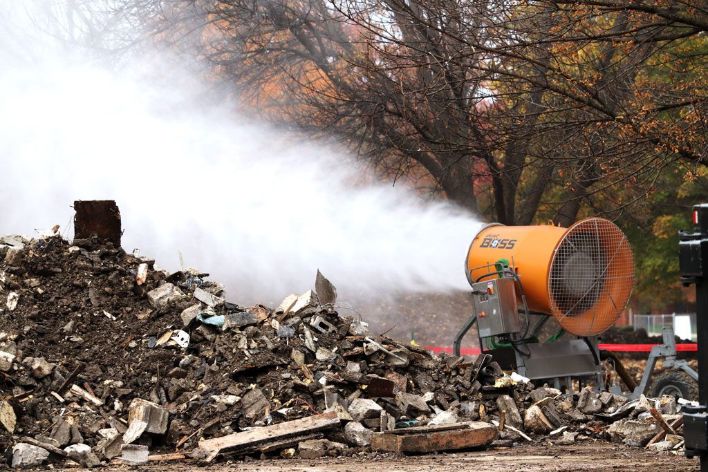 DustBoss DB-60 Dust Control Cannon Benefits