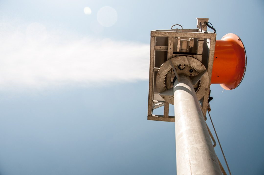 DustBoss Tower System For Dust Suppression