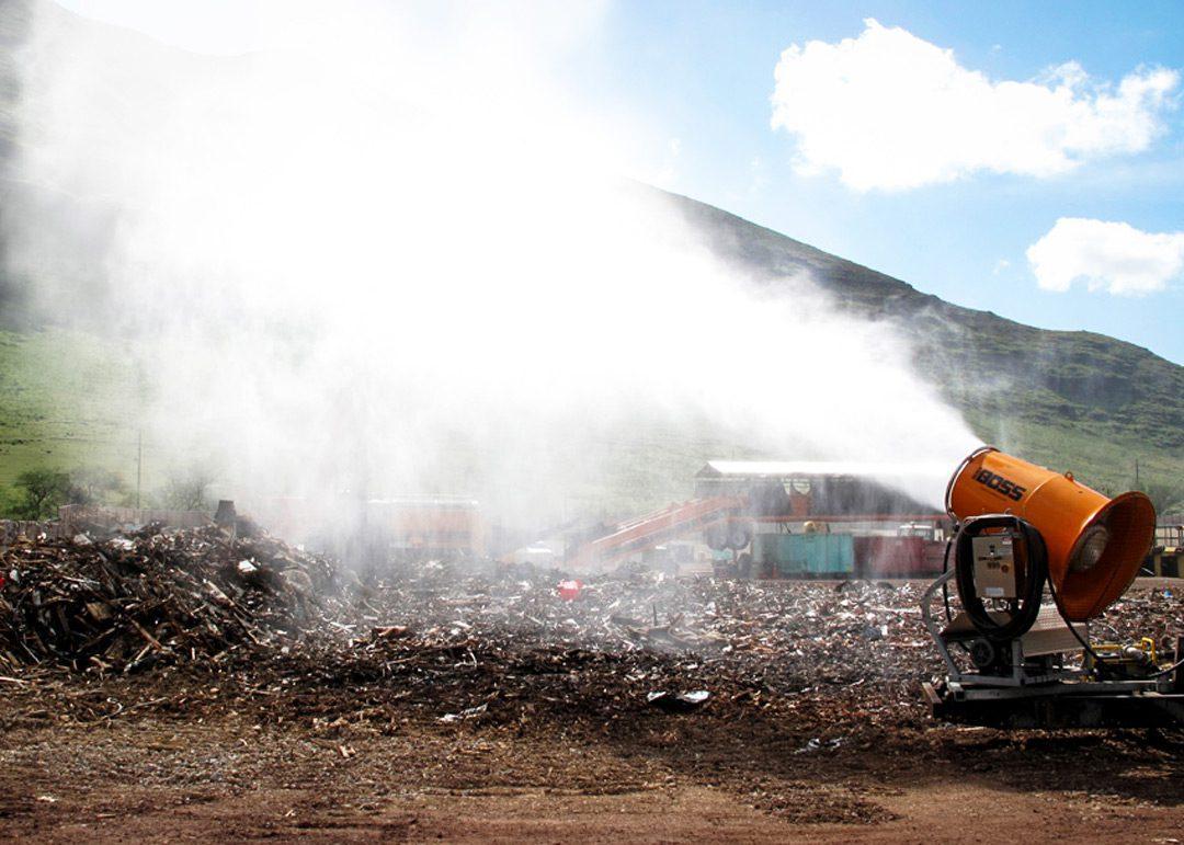 Odor Control in Landfill OdorBoss OB