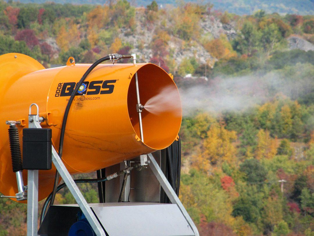 OdorBoss Odor Control in Landfill