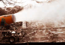 Dust Control Benefits of Misting Cannons