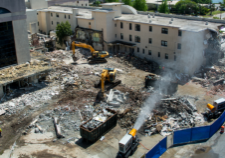 Dust Control Systems at UMSC Demolition