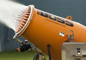 DustBoss Atomized Mist Cannon