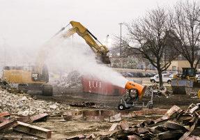 demolition dust control