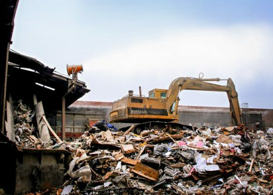 dust control construction and demolition recycling