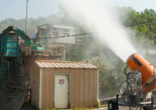 Dust Control for Industrial Sites