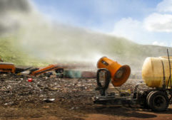 Odor Control at a Landfill